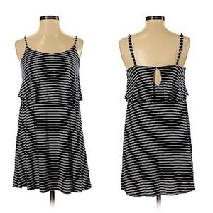 American Eagle Casual Summer Dress Black/White S